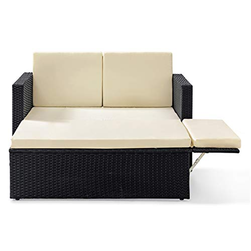 ᐅ gartenguru.net ᐅ POLY RATTAN Lounge Gartenset Sofa Garnitur ...