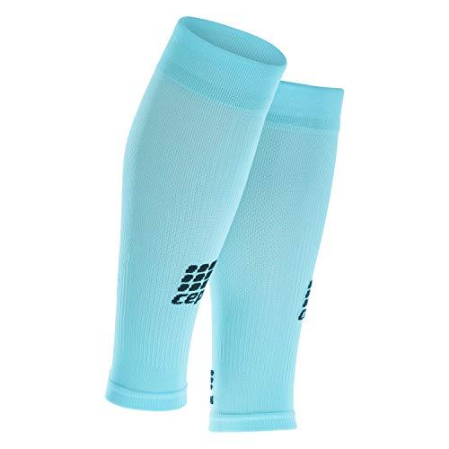 CEP - Compression Sleeves | Beinstulpen für Damen | blau | Größe III | Beinlinge für exakte Wadenkompression