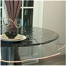 Nappe transparente de protection - Nappe plastique transparente pour table ...