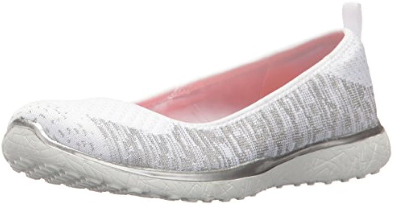 Zapatillas Skechers – Microburst-Made-You-Look Blanco/Plateado Talla: 39