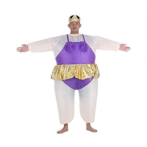 Drôles Costumes Idées Pour Femmes - Anself Costume de Gonflable de Mignon Adulte