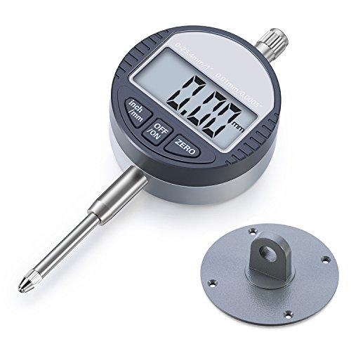 ASEL Digitale Messuhr 0.01/0.0005'' Digital Messuhr Messtaster 0-25.4mm/1'' Digital Dial indicator Messgerät