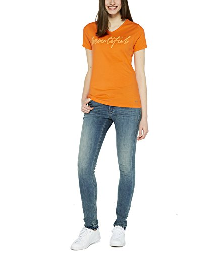 Colorado Denim Damen T-Shirts Faina Orange (flame 3964)