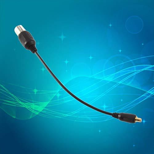 DDGE DMMS Adapterkabel für Antenne USB DVBT TV-Tuner für Koax auf MCX Antenne