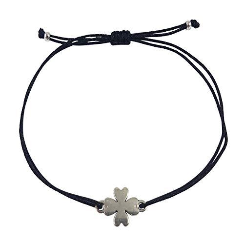 Nilian Damen Armband – Silber Herz Armband – Filigranes Frauen Armband - perfekt  geeignet als Geschenk 3df062d5f5