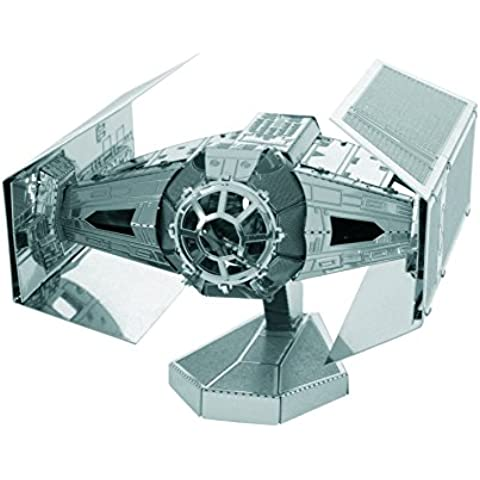Fascinations 5265 - Figura de acción (5265) - Figura Star Wars TIE Fighter Darth Vader 3D Metal (10