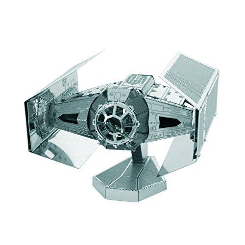 Fascinations Metal Earth MMS253 - 502664, Star Wars, Tie Fighter, Konstruktionsspielzeug, 2 Metallplatinen, ab 14 Jahren (Droid X-fall)