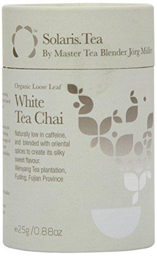 Solaris Tea Organic Loose Whole Leaf White Tea Chai 25 g