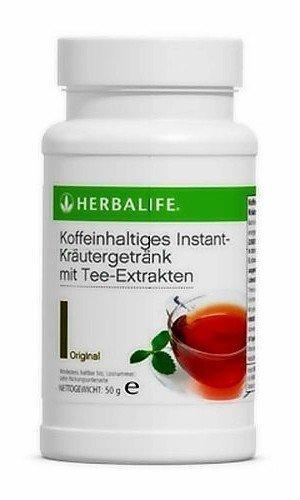Herbalife Bebida de extracto de té con plantas aromáticas sabor original
