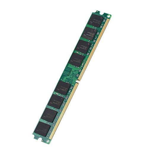 Tosuny 667MHZ DDR2 PC2-5300 2GB RAM 240Pin-Modul-Karte für Intel/AMD, eingebauter hochwertiger Chip, geeignet für DDR2 PC2-5300-Desktop-Computer, kompatibel für Intel/AMD-Motherboard - Pc4200 Sodimm Speicher
