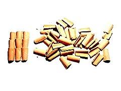 Idea Regalo - Generico ricevi 100 TEGOLE 10X15 MM Terracotta per PASTORI PRESEPE San Gregorio ARMENO Artigianali sheperds Crib sheperds Crib