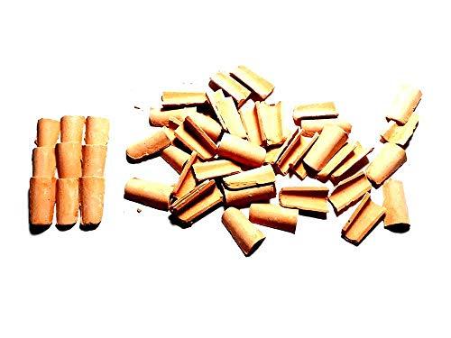 Generico ricevi 90 tegole 5x10 mm terracotta per pastori presepe san gregorio armeno artigianali sheperds crib