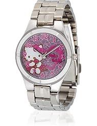 Hello Kitty Mädchen-Armbanduhr Ikeda Pink Metal Analog Quarz Alloy HK1154-512