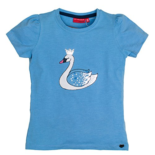 salt-and-pepper-forever-uni-schwan-t-shirt-fille-blau-indigo-blue-melange-407-6-ans