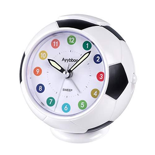 Ayybboo Reloj Despertador Analógico Niños