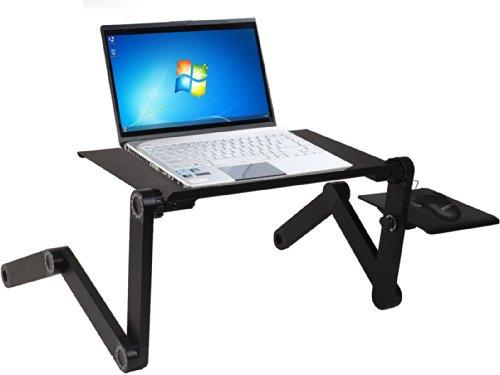 Betttisch Notebook Ständer Laptoptablett Notebooktisch Notebookständer Laptopständer Laptoptisch Laptop Bett Tisch Computertisch PAD Halter Klappbar (Tisch Halter)