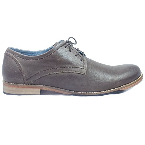 Lotus Mens Brown Leather Lace-Up Casual Shoe 8