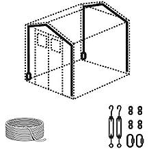 GROSFILLEX - Kit Anclaje Para Casetas De Resina Grosfillex