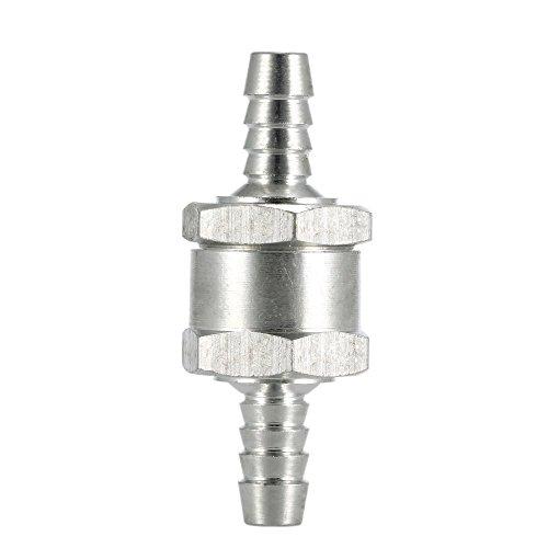Preisvergleich Produktbild Tenlacum Kraftstoff 1 Weg Ventil Benzin Diesel Non-Return-Rückschlagventil QBBRT (8mm)