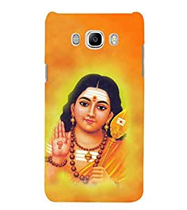 FUSON Lord Muragan Giving Blessings 3D Hard Polycarbonate Designer Back Case Cover for Samsung Galaxy J5 (6) 2016 :: Samsung Galaxy J5 2016 J510F :: Samsung Galaxy J5 2016 J510Fn J510G J510Y J510M :: Samsung Galaxy J5 Duos 2016