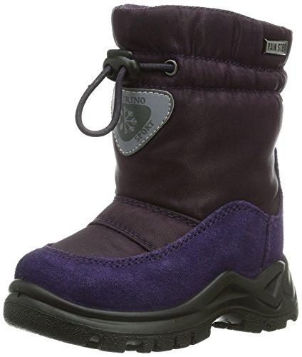 Naturino NATURINO VARNA, Stivali da neve con caldo rivestimento interno Bambina, Viola (Violett (9107Viola)), 20 (4 uk)