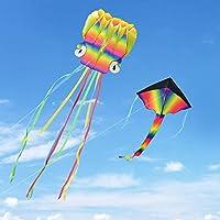 Kupton Drachen mit schönen Schwänzen für Kinder und Erwachsene, Leicht zu Fliegen für Kinder Spiele und AktivitäTen im Freien