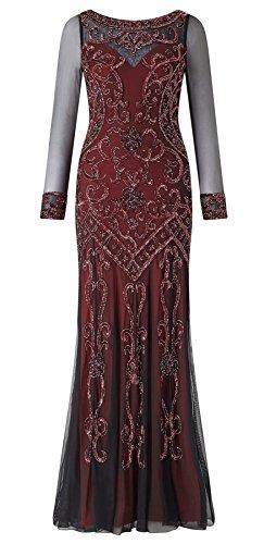 Fenton Long Sleeved Embellished Dress