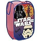 North Star Pop UP WD9447 Para Juguetes de Baño, Diseño de Star Wars, Poliéster, Multicolor