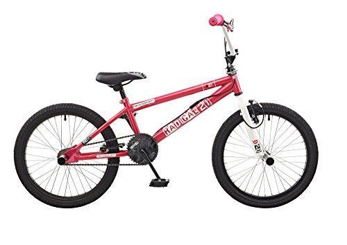 NEW 2016Coq Radical filles 50,8cm Roue de vélo BMX Freestyle Rose