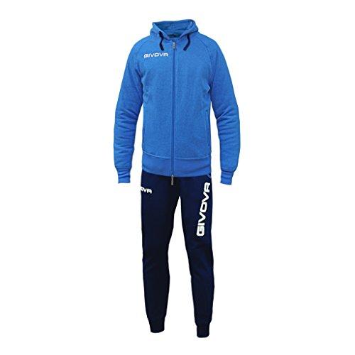 Givova - Trainingsanzug King für mann und frau, logo muster, stretchgewebe - größe L