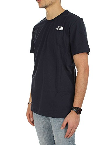 The North Face Herren M S/S Red Box Tee Kurzärmeliges T-Shirt Navy