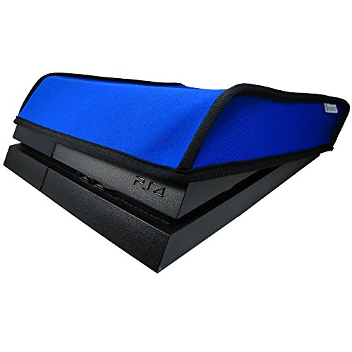Pandaren® Staub Beweis Neoprene Cover Abdeckung für Sony PS4 Konsole Horizontal Ort (Blau)