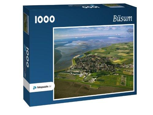 Preisvergleich Produktbild Büsum - Puzzle 1000 Teile mit Bild von oben