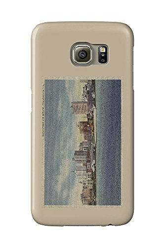 Jacksonville, FL - View of Water Front and Skyline (Galaxy S6 Cell Phone Case, Slim Barely There) -