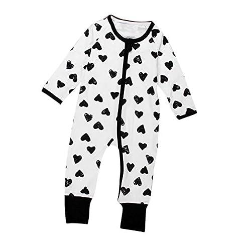 IGEMY - Sweat-shirt à capuche - Bébé (garçon) 0 à 24 mois bleu bleu - blanc - 3 mois