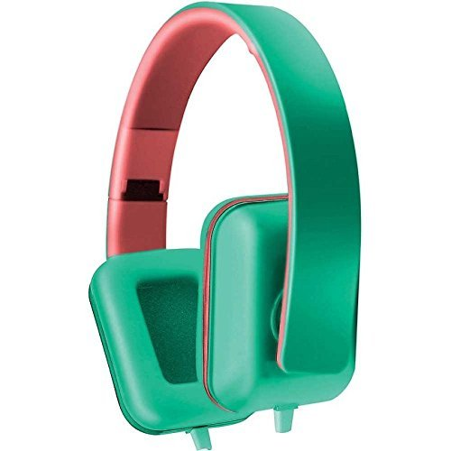 Coby cv-h820-teal Colorbeat cuffie stereo W/mic CVH820Teal