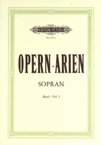 Opernarien 1 - 36 Sopran Arien. Gesang Hoch, Klavier