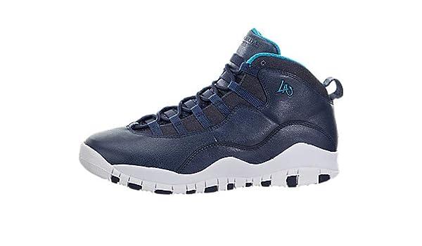 e724897d302888 Jordan Air X (10) Retro (City Pack  LA) (Kids)  Amazon.co.uk  Shoes   Bags