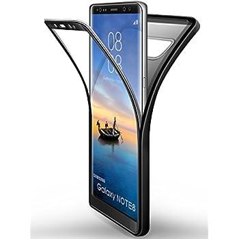 Coque Galaxy Note 8 Noir , ivencase Coque Samsung Galaxy Note 8 [ Anti-Choc ] Housse Etui TPU
