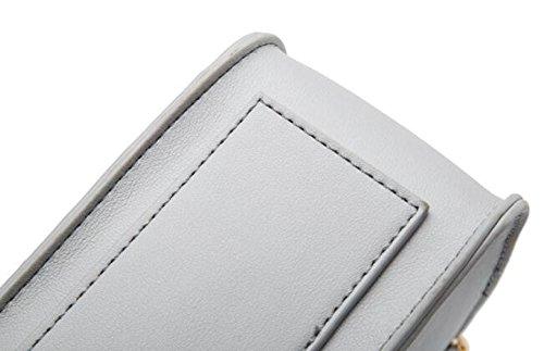 352c438da120a ... Damen Ketten Tasche Schultertasche Umhängetasche Mode Elegante Vintage  Kleine Handtaschen Mini Black Bag Black ...