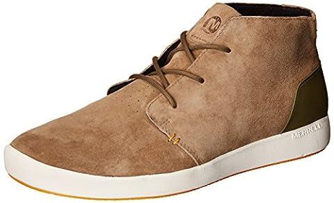 Merrell Men's Freewheel Bolt Chukka Shoe, Coriander, 8 M US
