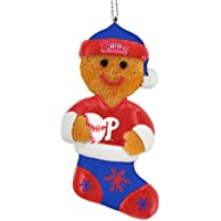 Forever Collectibles Philadelphia Phillies 2012 Gingerbread Man Ornament
