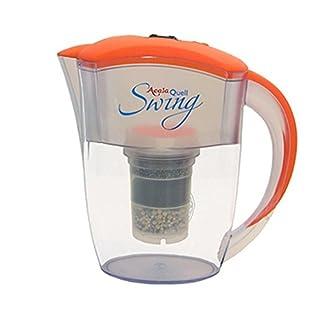 Wasserfilter AcalaQuell Swing | Orange | Kannenfilter mit höchster Filterleistung | Mehrschichtige Filterkartusche | PI-Technology | Kreiert köstlich schmeckendes, wohltuendes Wasser