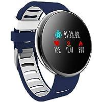 YoYoFit Orologio Fitness Activity Tracker, Impulsi Pressione Sanguigna Pedometro Impermeabile Monitoraggio della Frequenza Funzione di Gioco Smart Watch Compatibile con IOS Android Uomo Donna Bambini