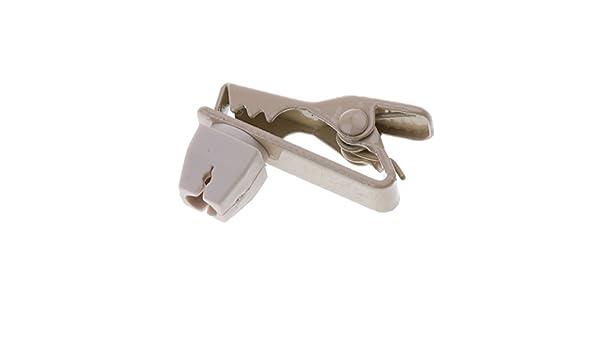 B Baosity Support De Pince De Micro De Micro-Cravate Lavalier en M/étal De 1.5mm pour La Parole