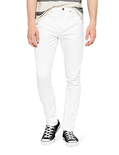 find. Washed Slim Jeans, Blanc (White), W40/L34
