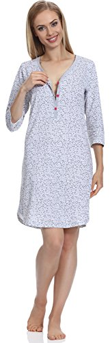 Merry Style Damen Nachthemd 2004 Melange-2A