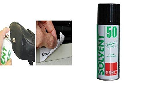 KONTAKT CHEMIE SOLVENT 50 Etikettenlˆser, 200 ml VE = 1