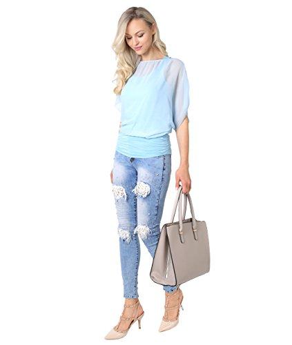 KRISP -  Jeans  - Basic - Donna Blue (2128)