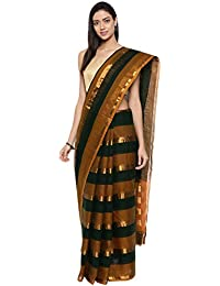 CLASSICATE From the house of Classicate From The House Of The Chennai Silks - Pure Venkatagiri Cotton Saree - Multicolor - (CCMYSC9502)